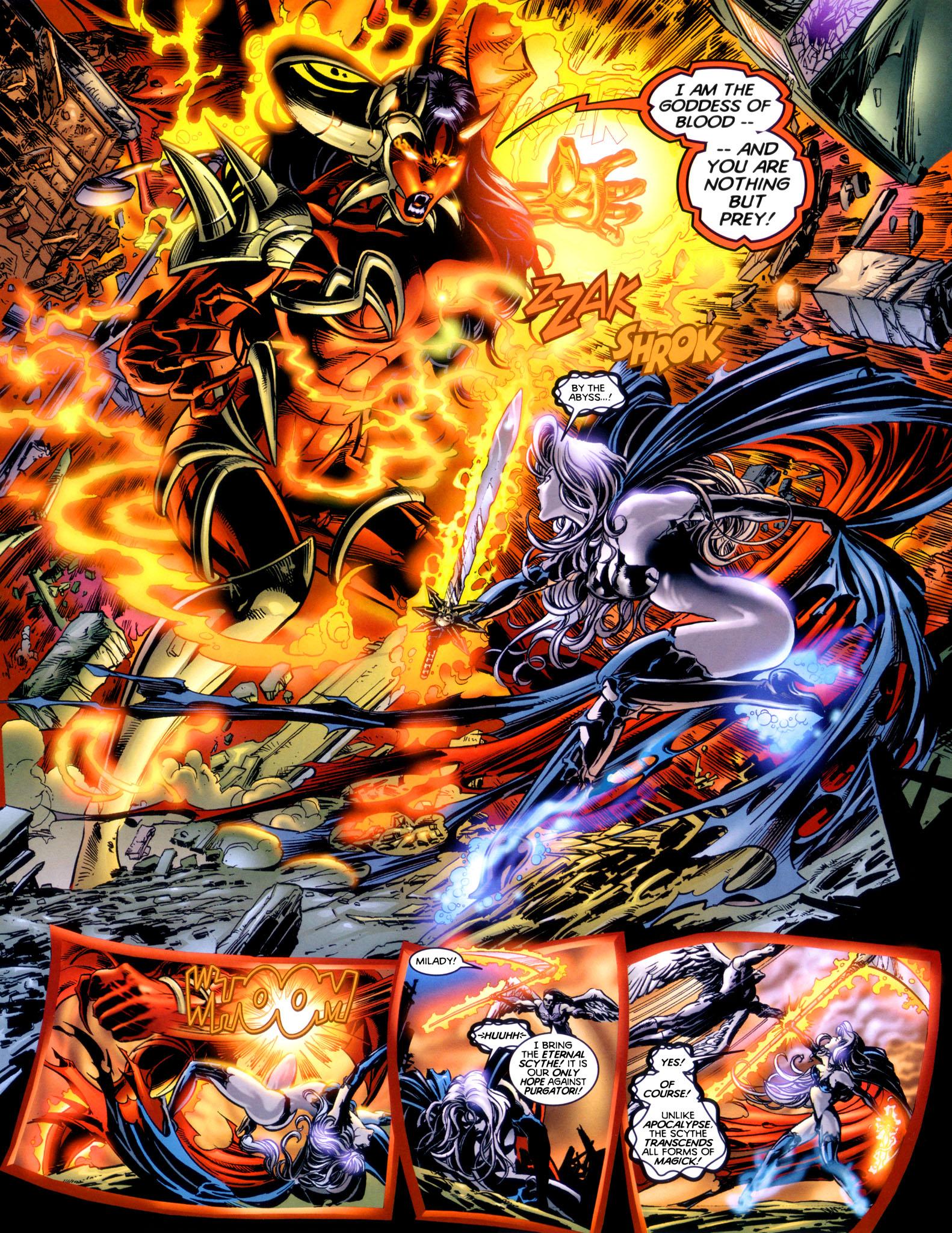 Read online Lady Death vs. Purgatori comic -  Issue # Full - 20