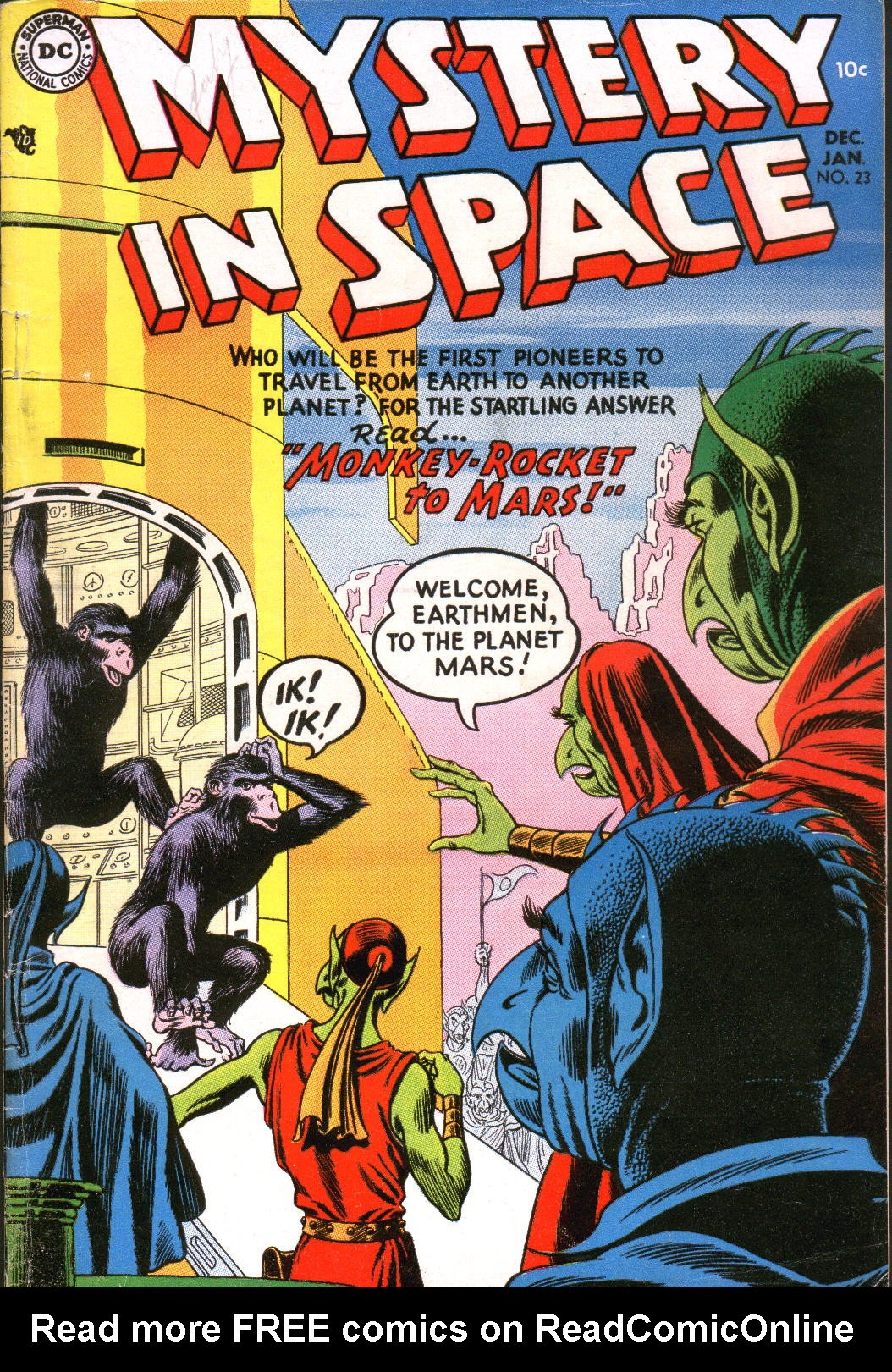 Mystery in Space (1951) issue 23 - Page 1