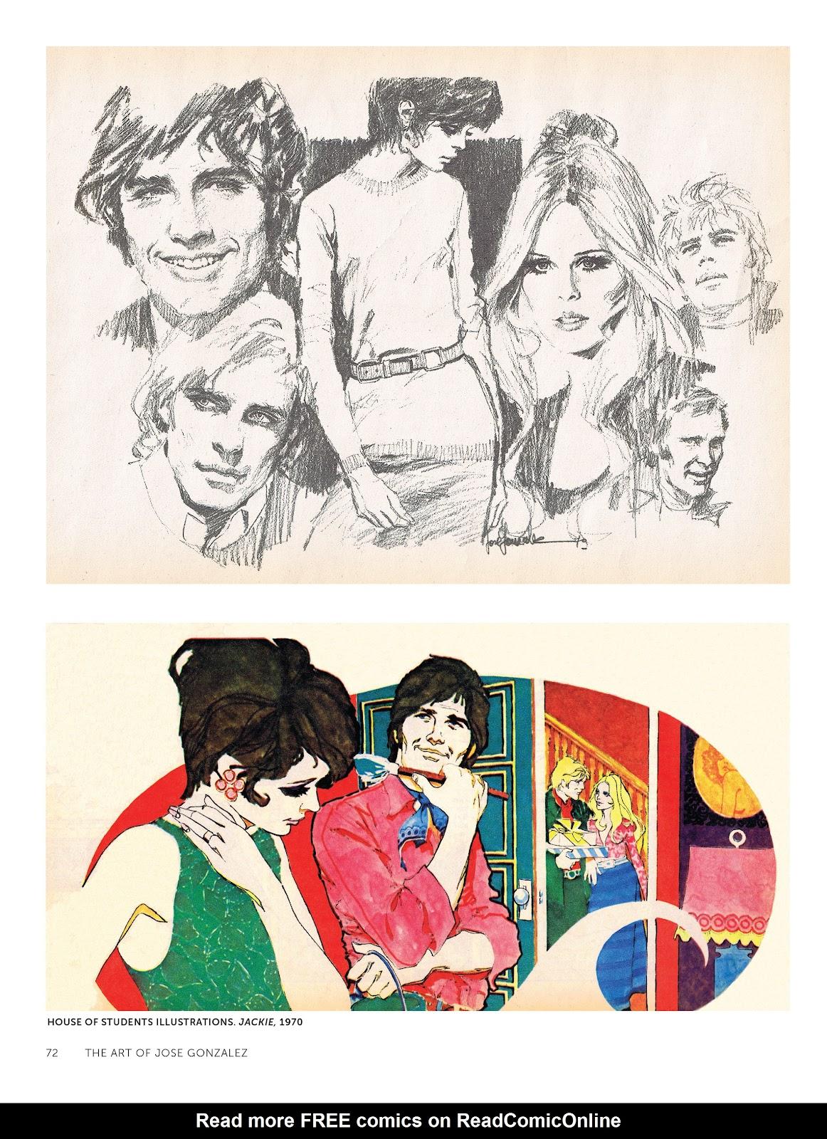 Read online The Art of Jose Gonzalez comic -  Issue # TPB (Part 1) - 73