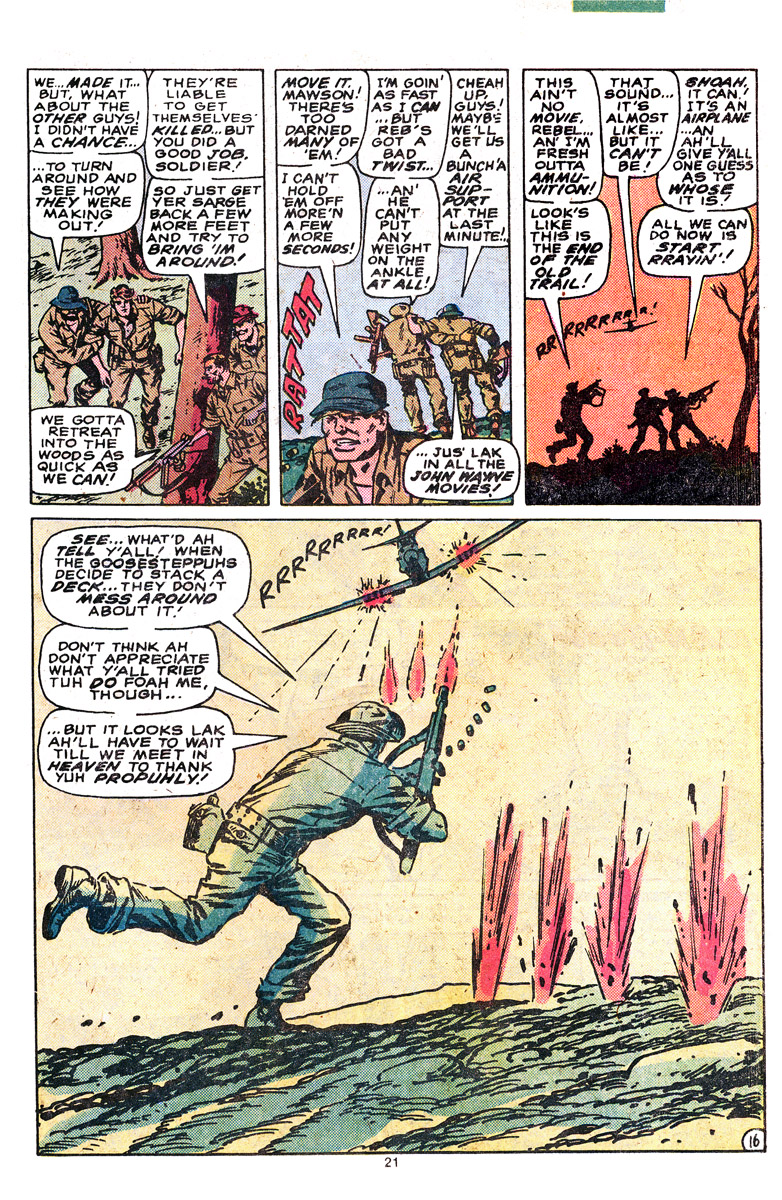 Read online Sgt. Fury comic -  Issue #164 - 23