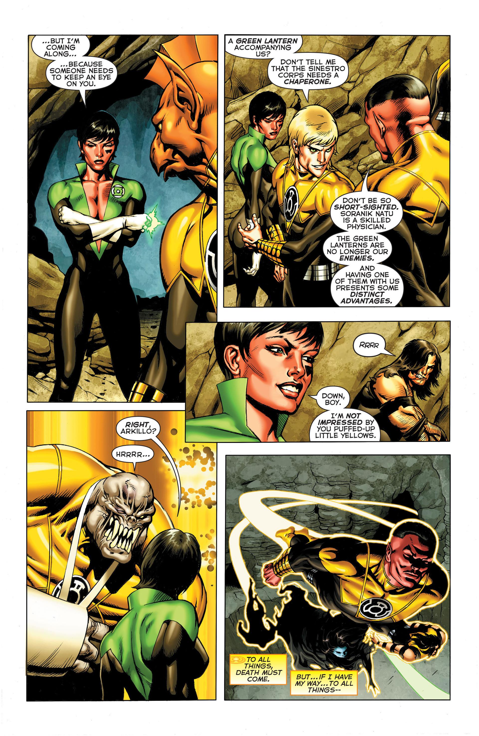 Read online Sinestro comic -  Issue #3 - 13