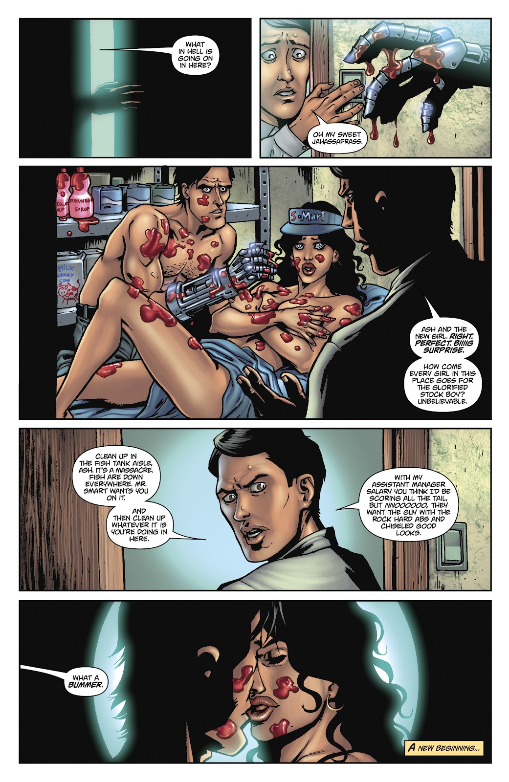 Army of Darkness: The Long Road Home issue TPB - Page 103