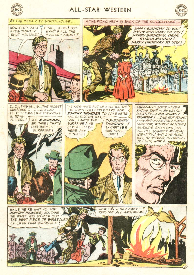 Read online All-Star Western (1951) comic -  Issue #91 - 21