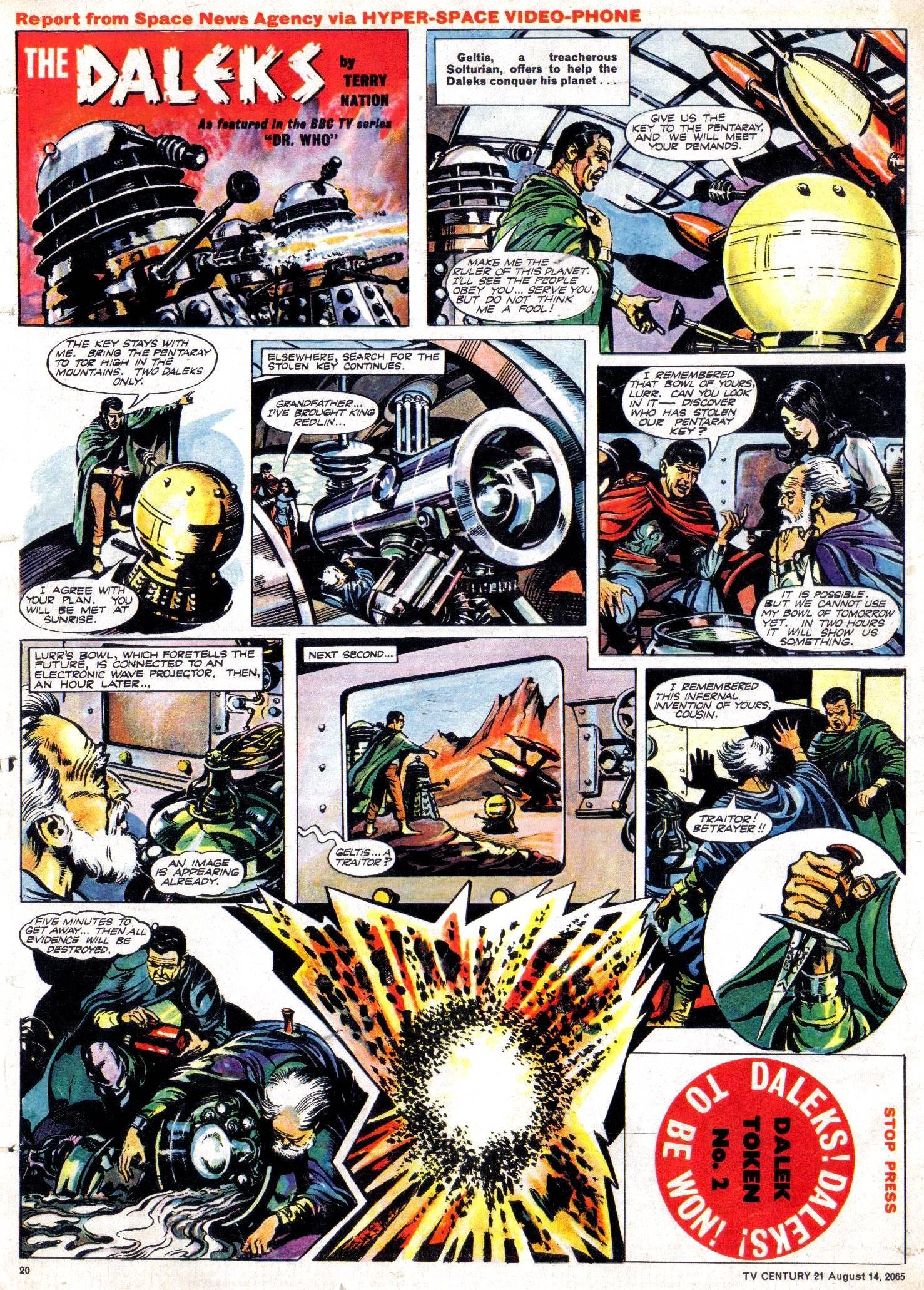 Read online TV Century 21 (TV 21) comic -  Issue #30 - 19