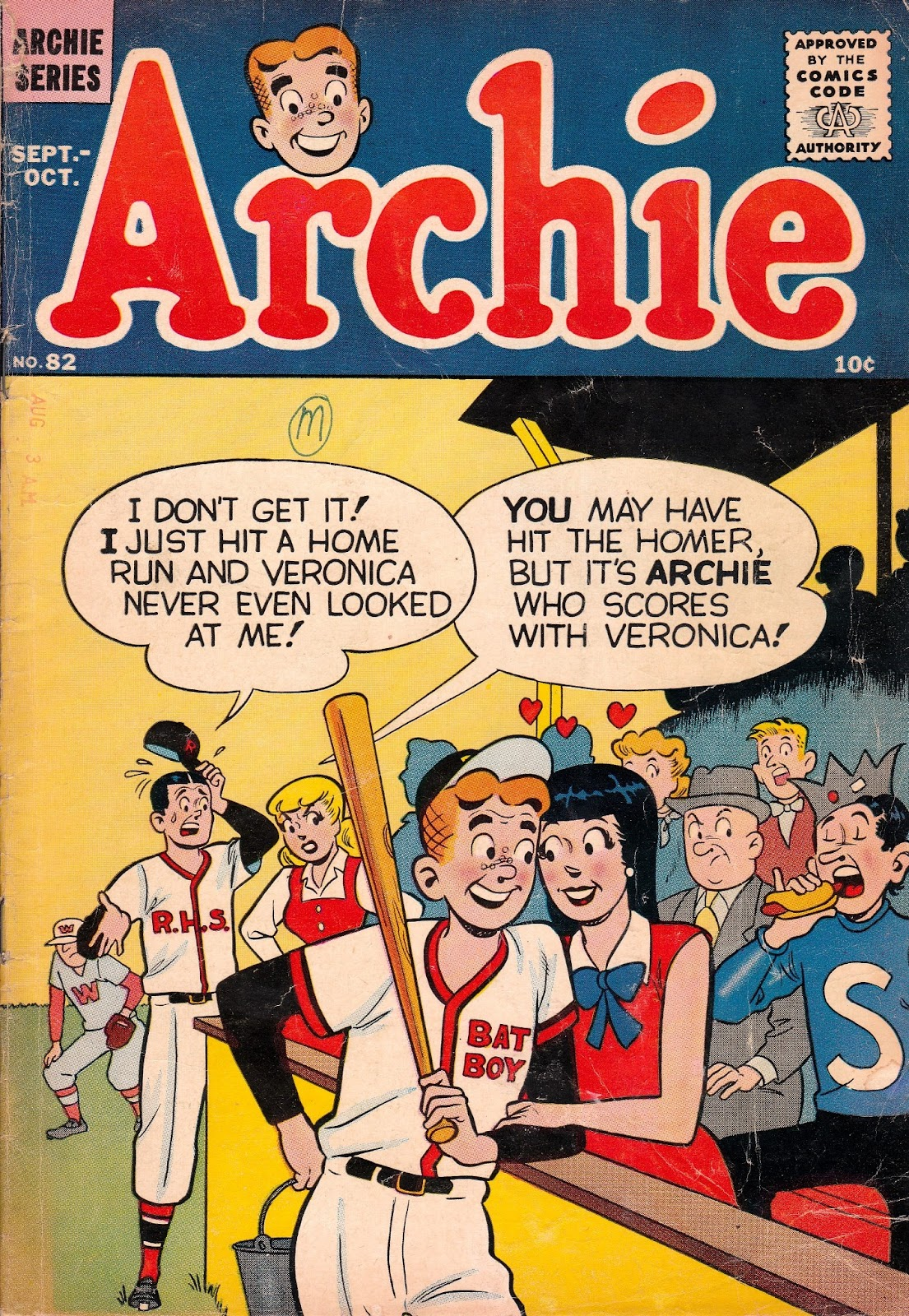 Archie Comics issue 082 - Page 1