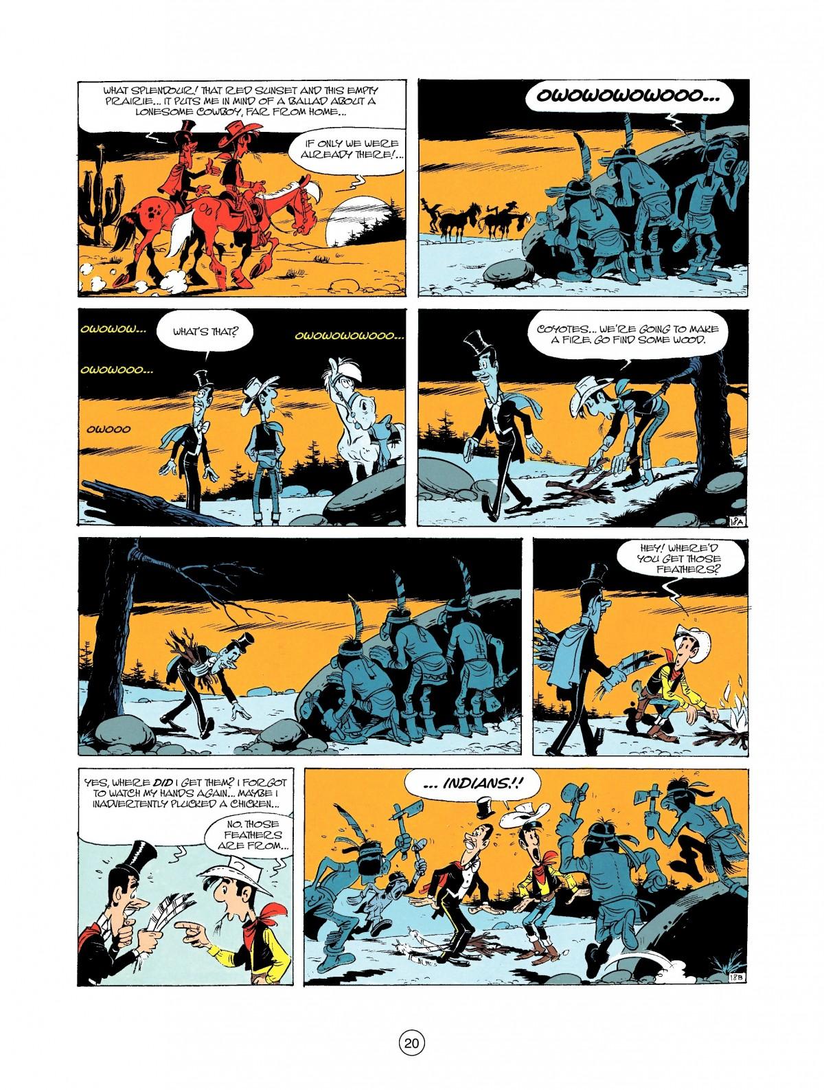 Read online A Lucky Luke Adventure comic -  Issue #37 - 20