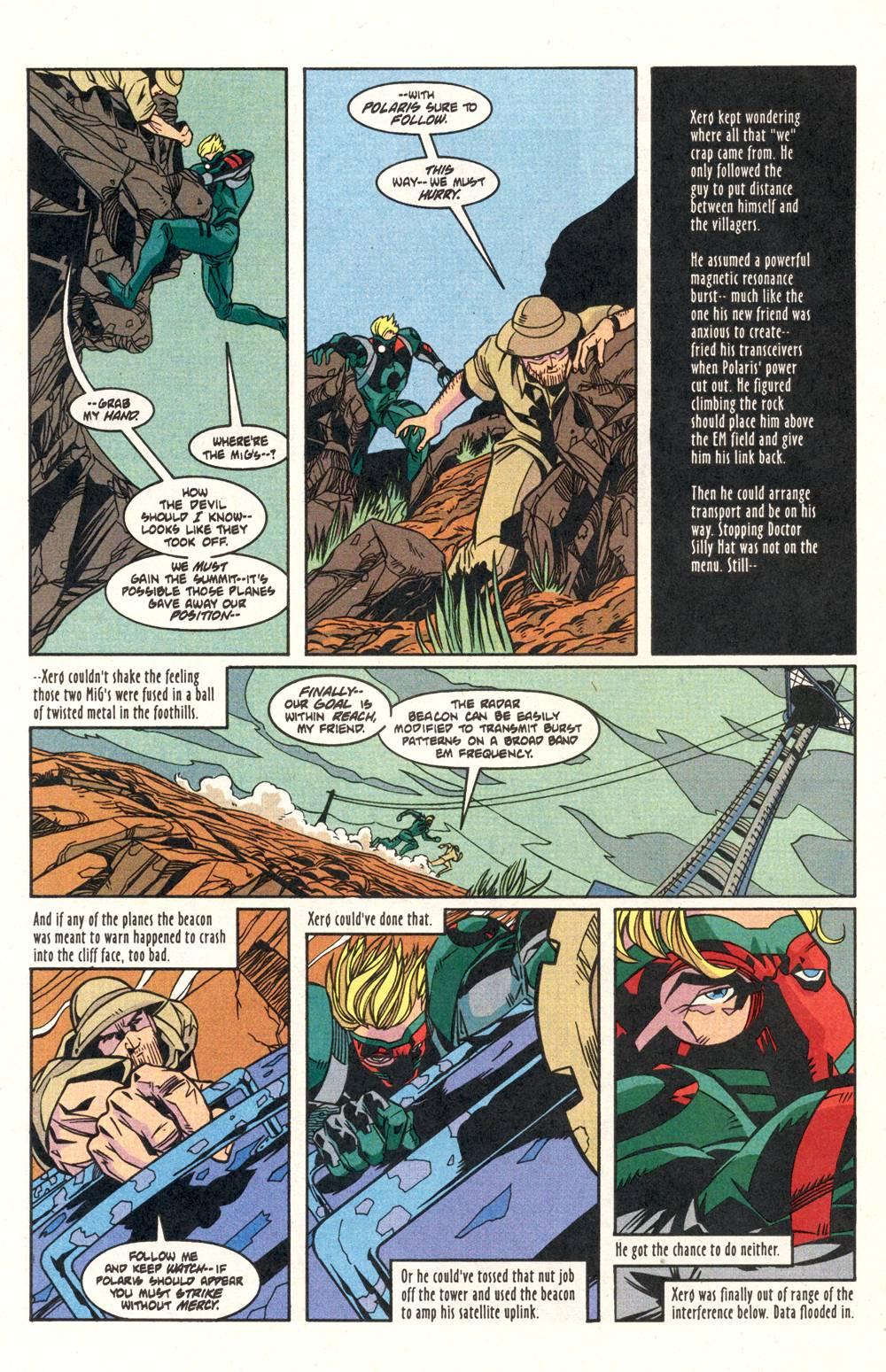 Read online Xero comic -  Issue #6 - 20