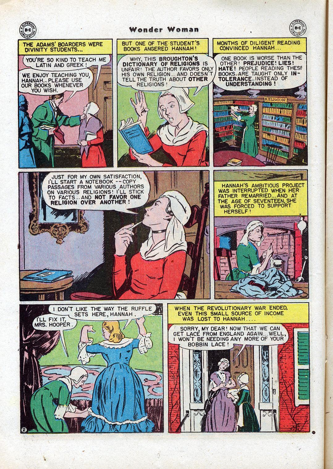 Read online Wonder Woman (1942) comic -  Issue #18 - 20