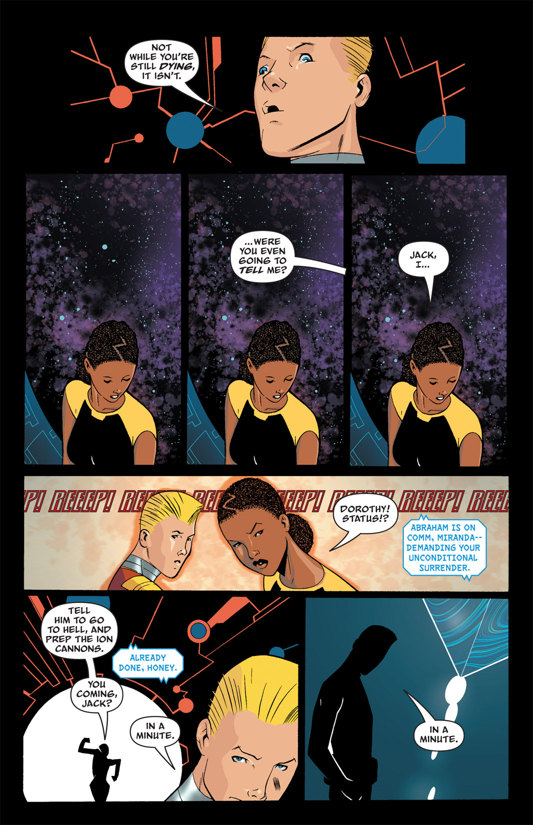Read online The Many Adventures of Miranda Mercury: Time Runs Out comic -  Issue # TPB - 35
