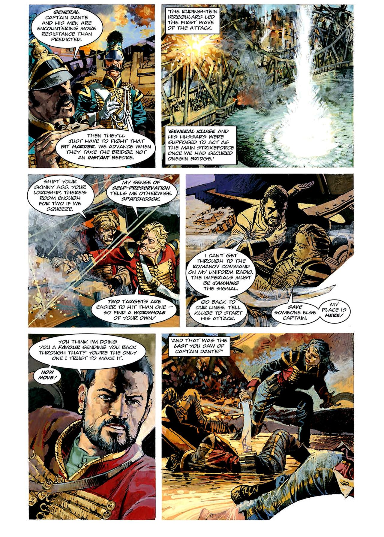 Read online Nikolai Dante comic -  Issue # TPB 4 - 72