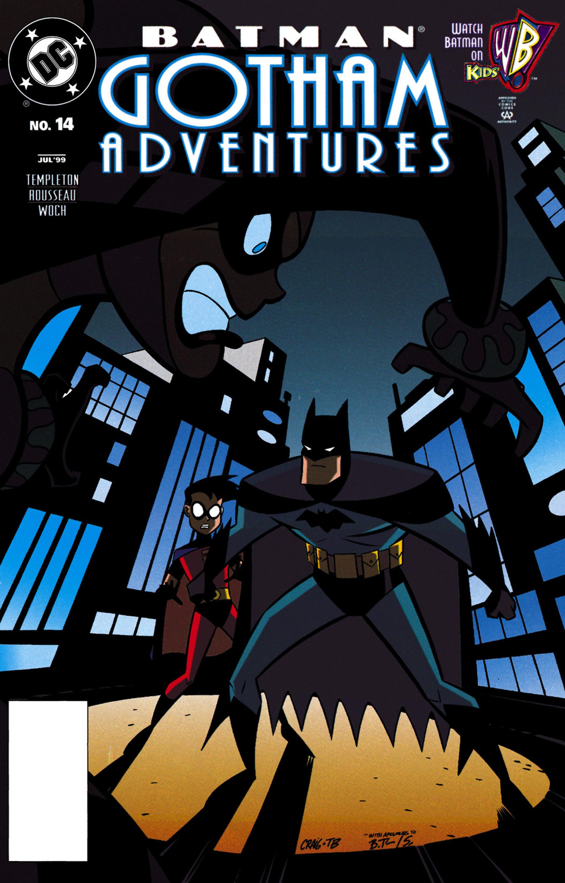 Batman: Gotham Adventures 14 Page 1