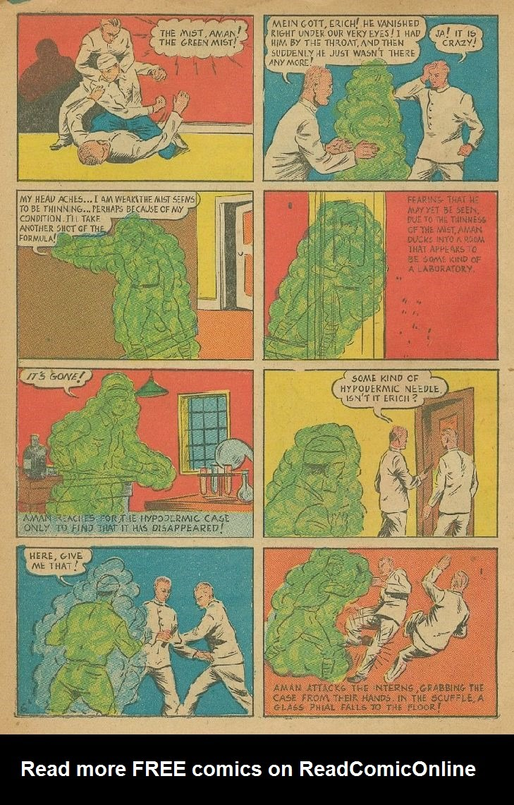 Read online Amazing Man Comics comic -  Issue #9 - 9