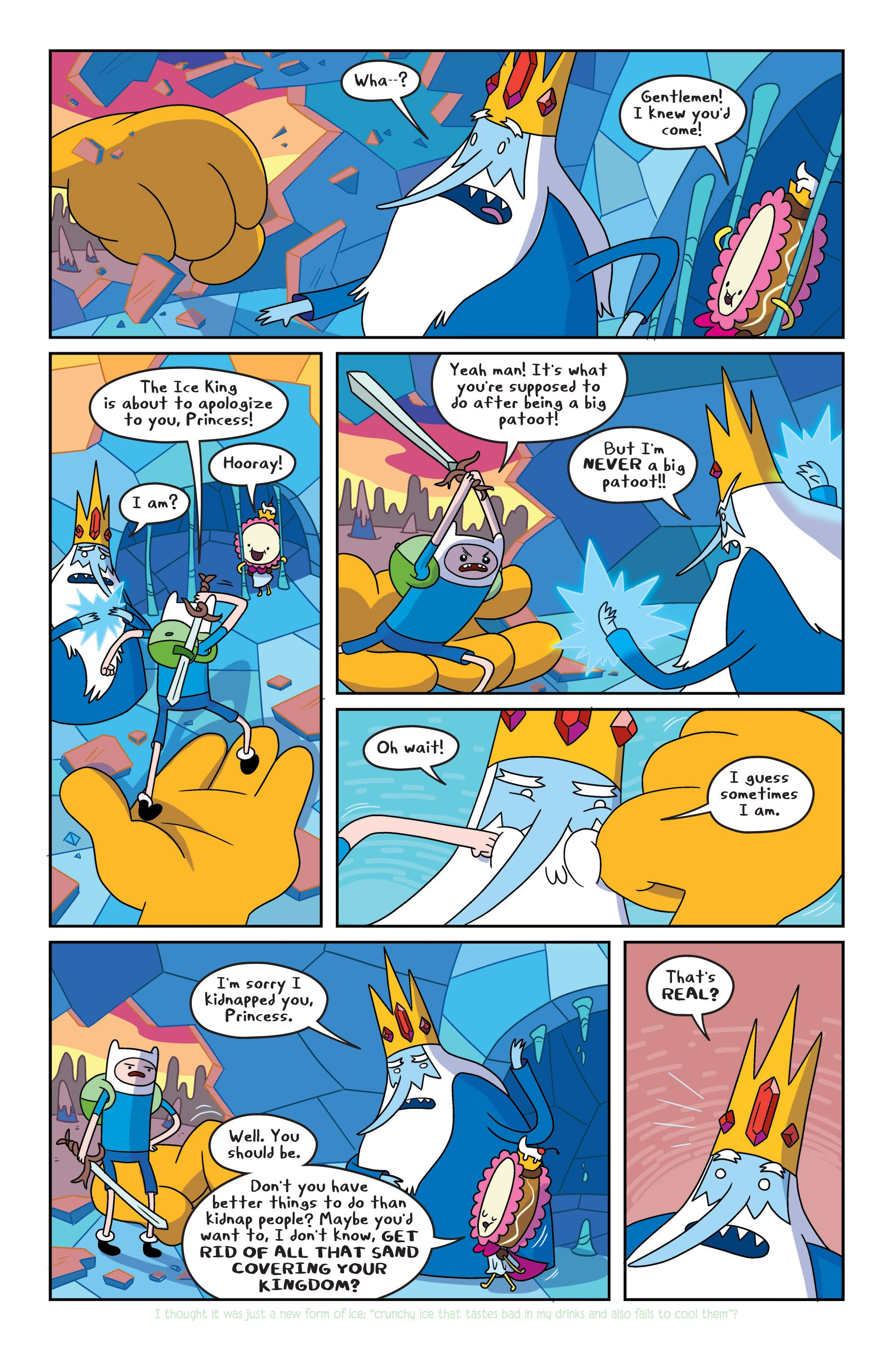 Read online Adventure Time comic -  Issue #4 - 11