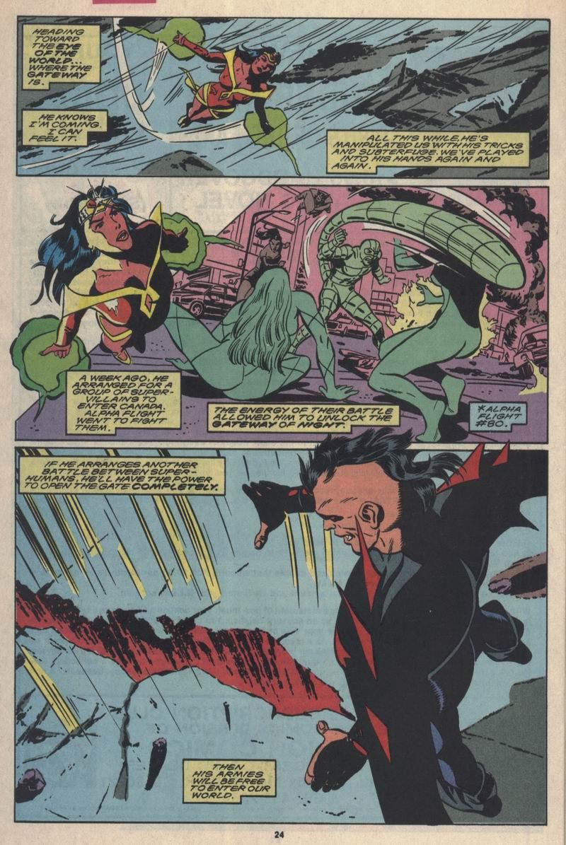Read online Alpha Flight (1983) comic -  Issue #84 - 19