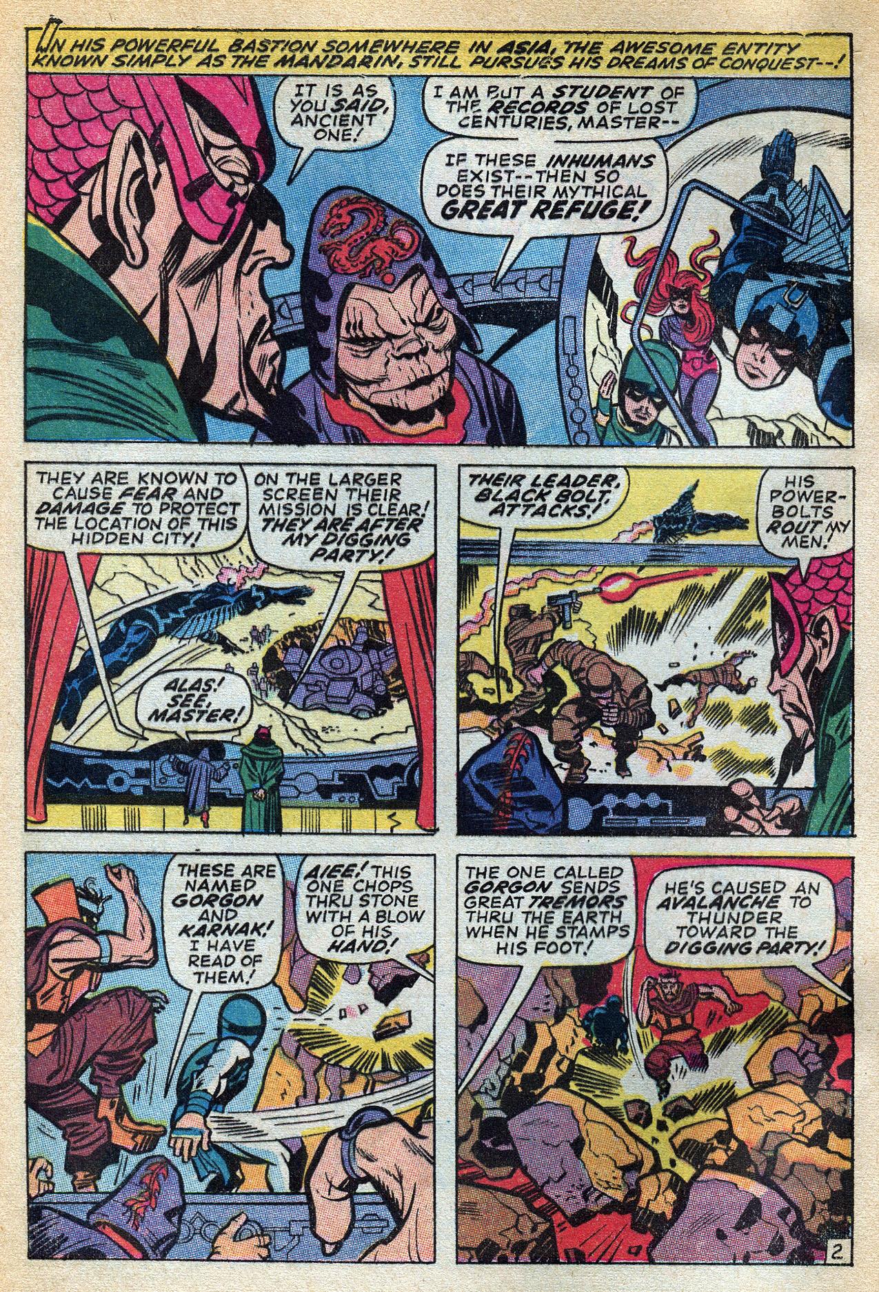Read online Amazing Adventures (1970) comic -  Issue #3 - 4