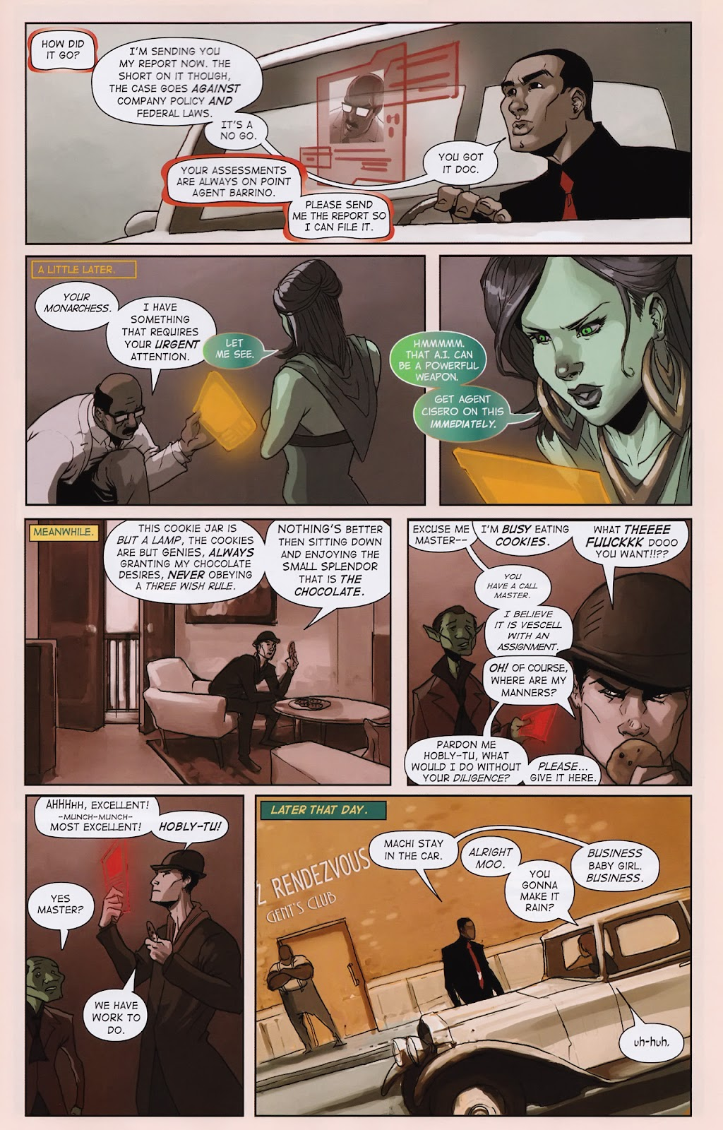 Read online Vescell comic -  Issue #2 - 23