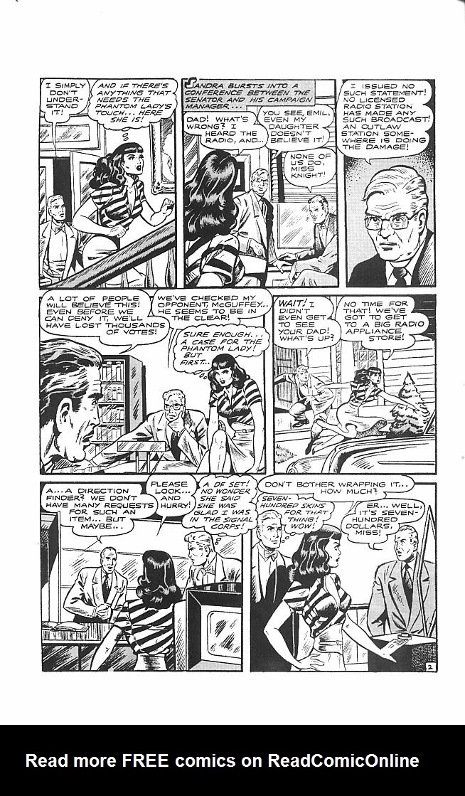 Read online Golden-Age Men of Mystery comic -  Issue #6 - 16
