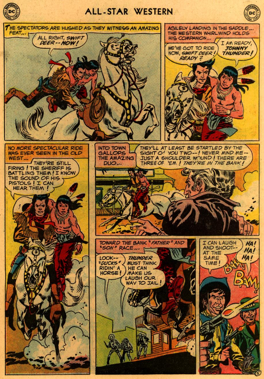 Read online All-Star Western (1951) comic -  Issue #94 - 32