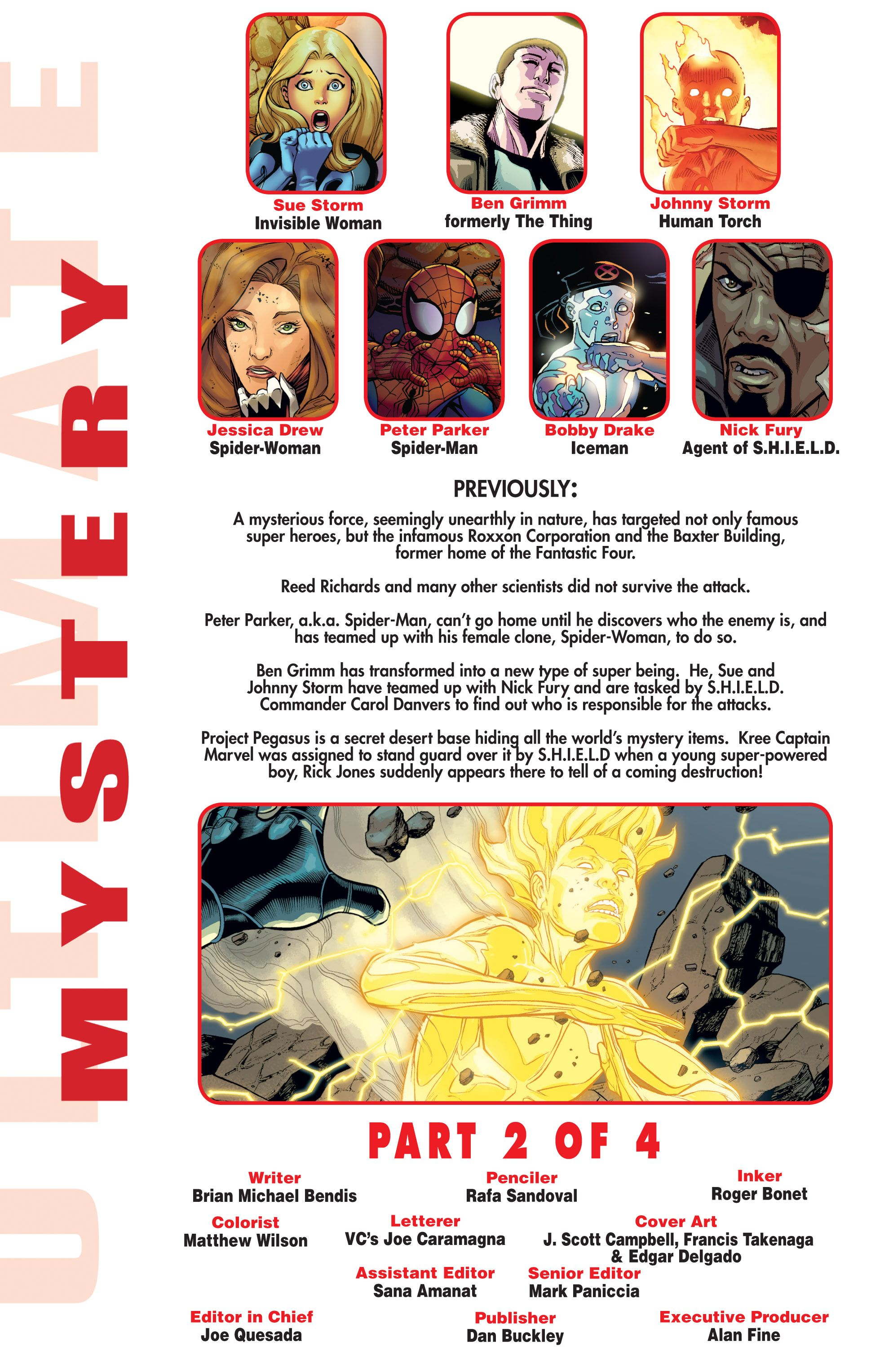 Read online Ultimate Mystery comic -  Issue #2 - 2
