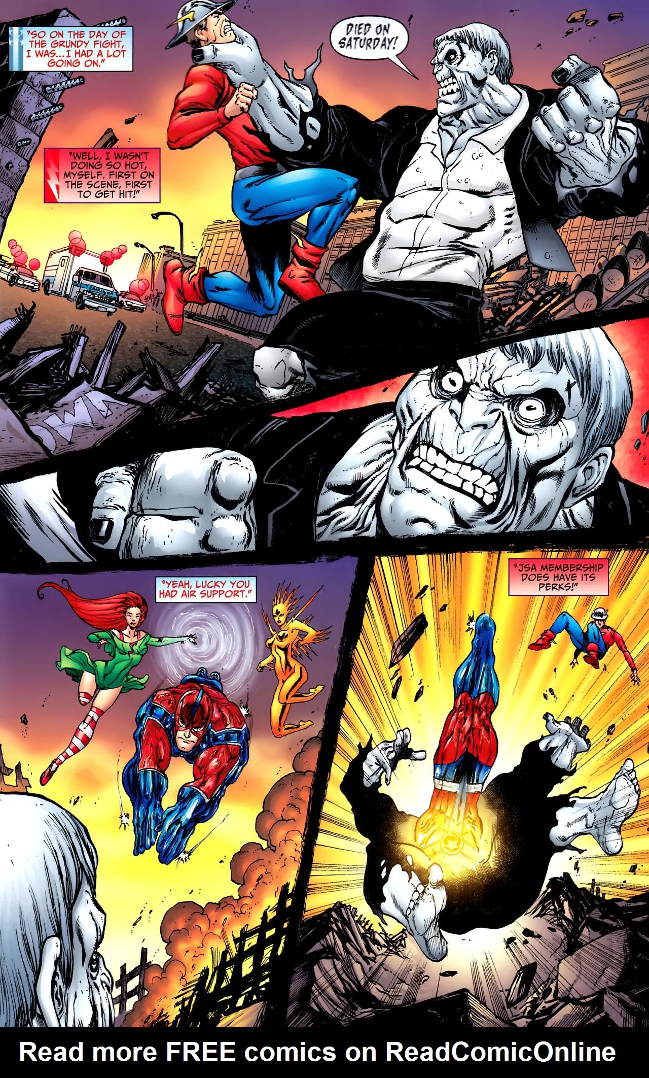 Read online JSA 80-Page Giant 2011 comic -  Issue # Full - 33