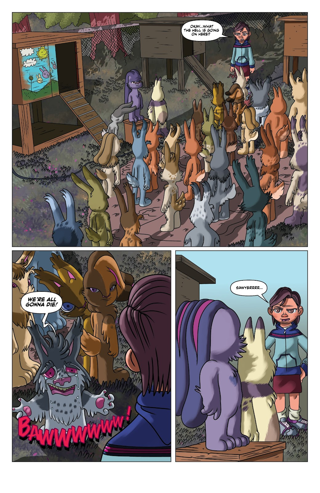 Read online Auntie Agatha's Home For Wayward Rabbits comic -  Issue #5 - 11