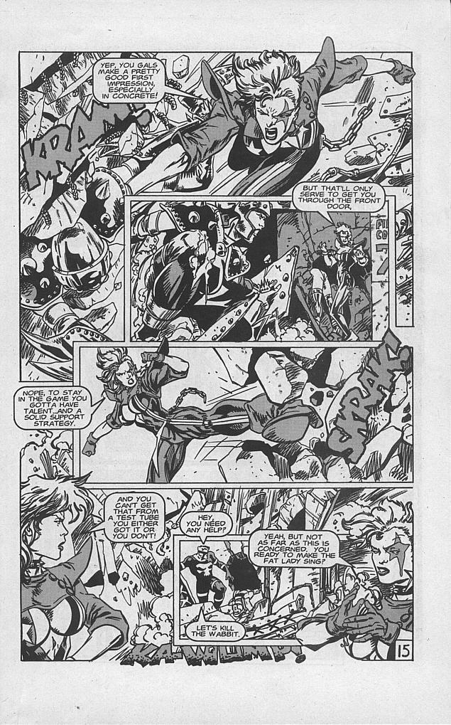 Femforce Issue #94 #94 - English 17