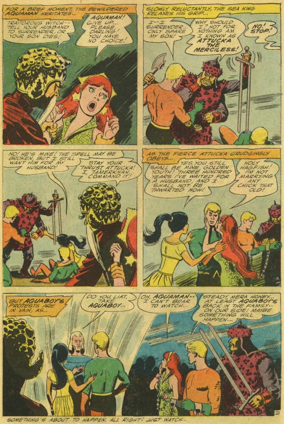 Read online Aquaman (1962) comic -  Issue #25 - 27