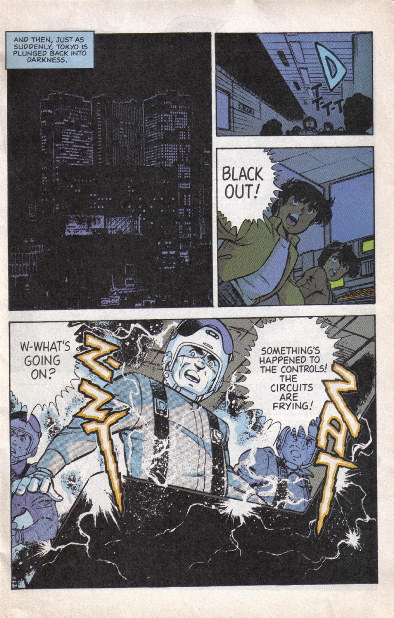 Read online Dark Horse Classics: Terror of Godzilla comic -  Issue #5 - 5