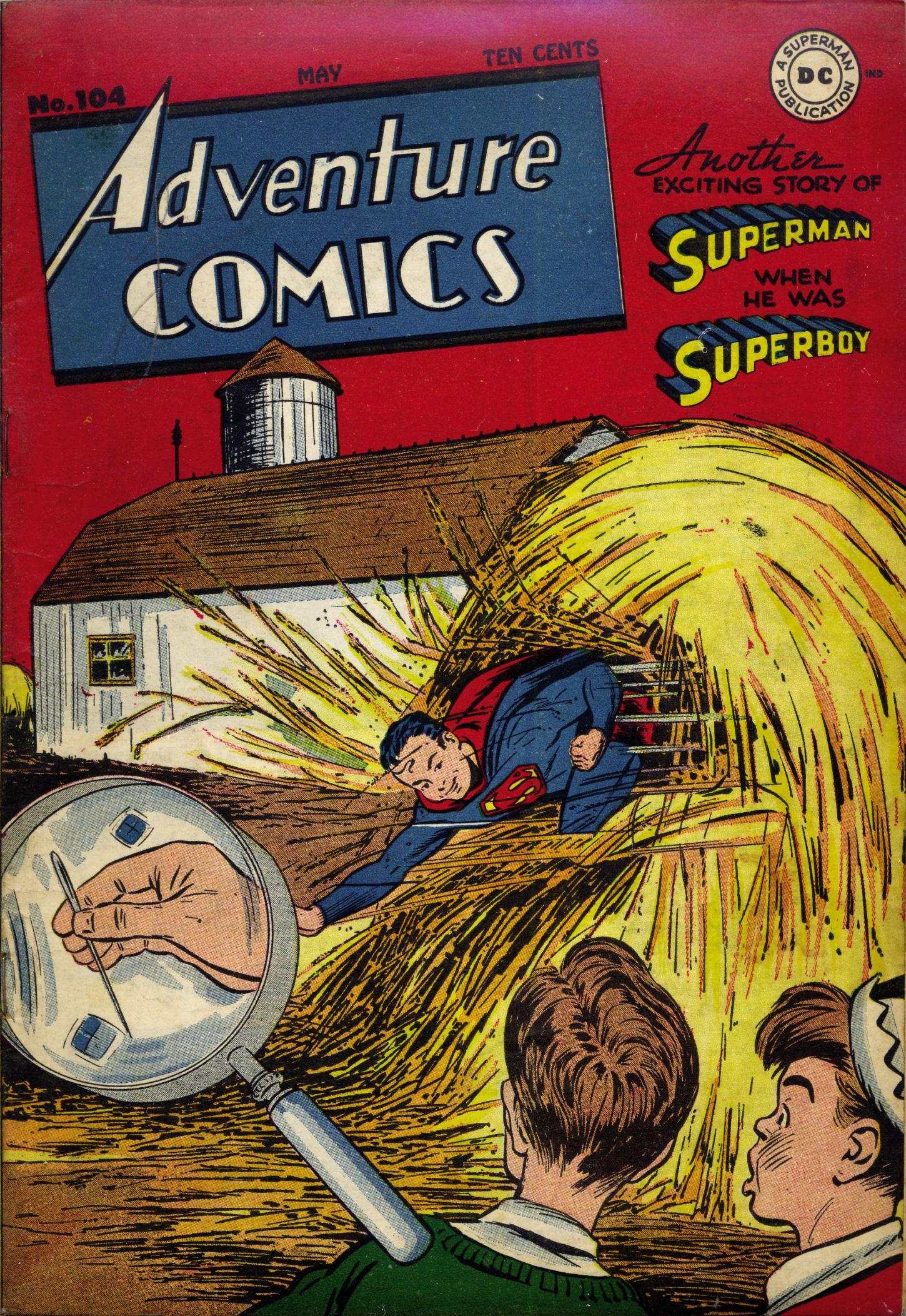 Read online Adventure Comics (1938) comic -  Issue #104 - 2