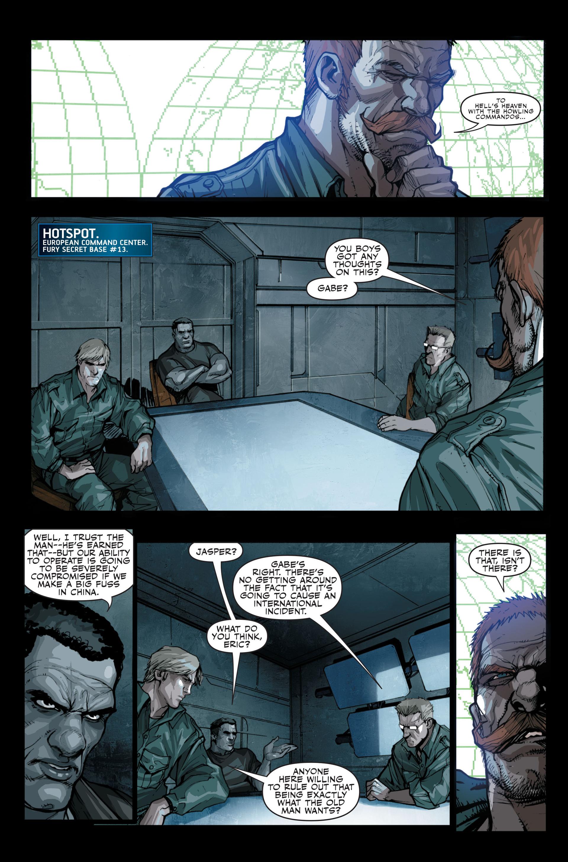 Read online Secret Warriors comic -  Issue #13 - 6