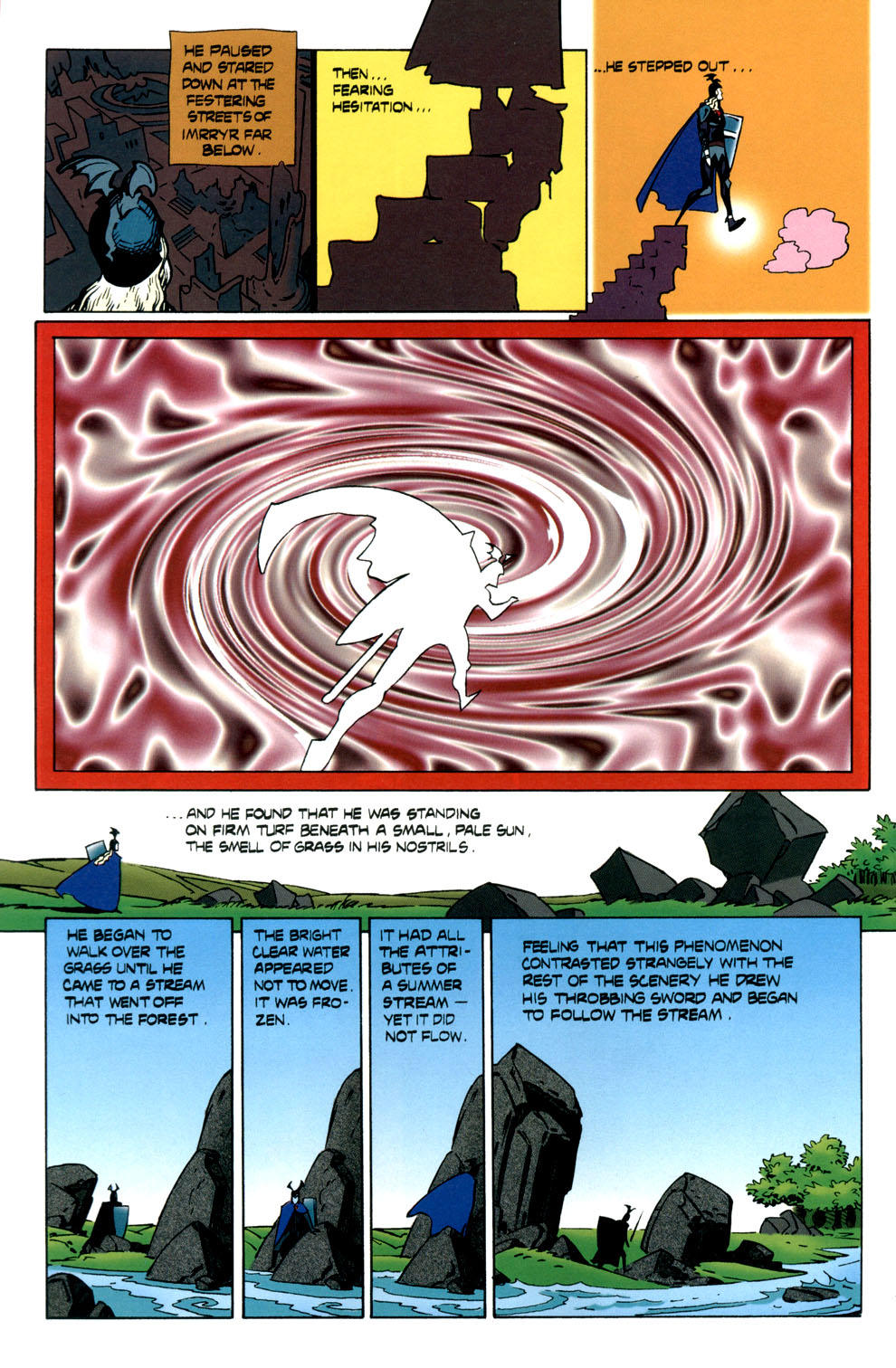 Read online Elric: Stormbringer comic -  Issue #6 - 14