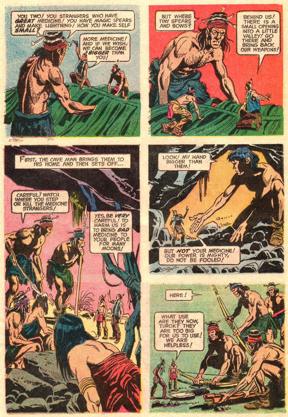 Read online Turok, Son of Stone comic -  Issue #67 - 24