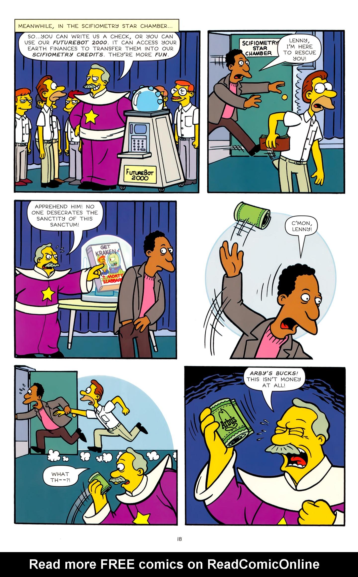 Read online Simpsons Comics comic -  Issue #179 - 16