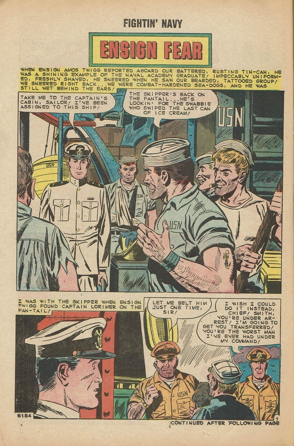 Read online Fightin' Navy comic -  Issue #91 - 14