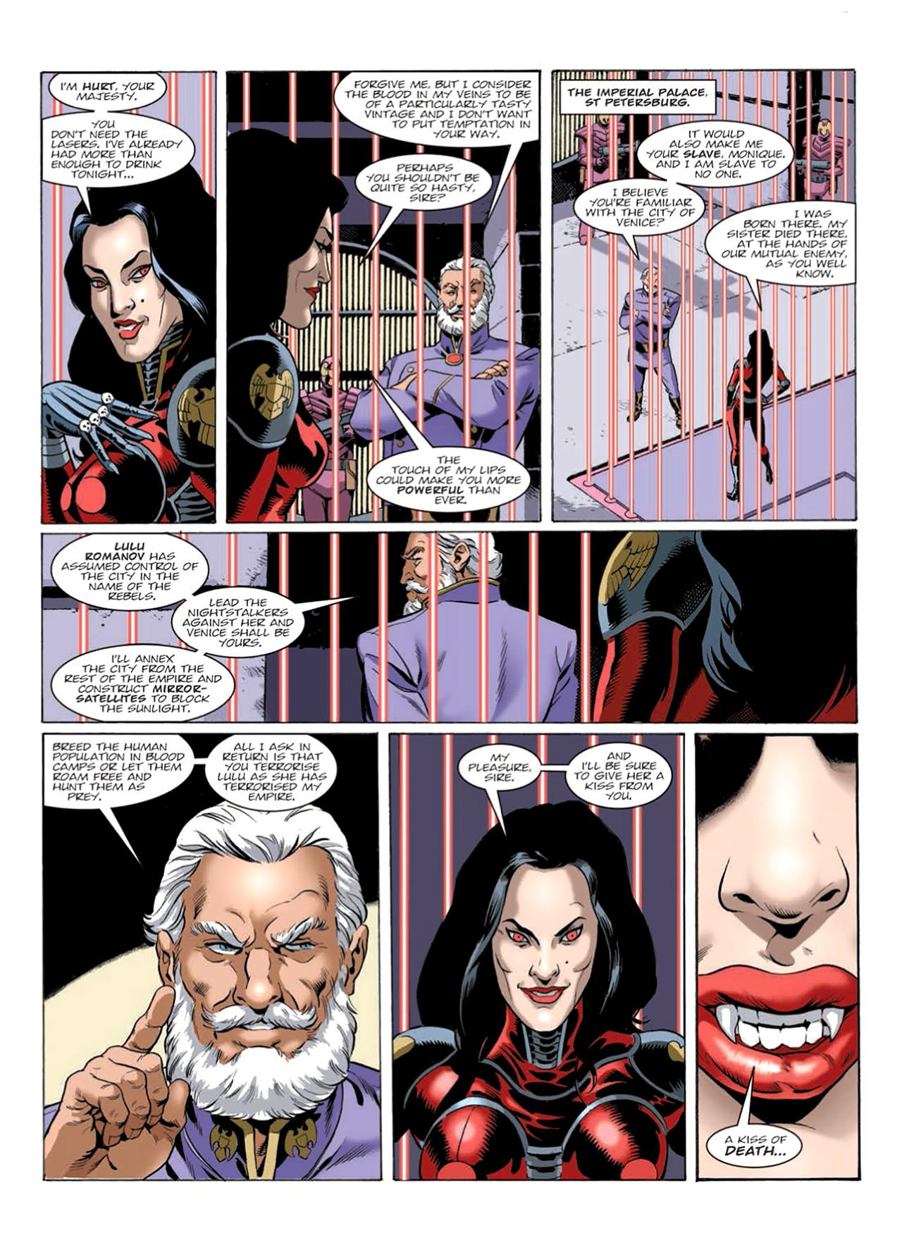 Read online Nikolai Dante comic -  Issue # TPB 9 - 162