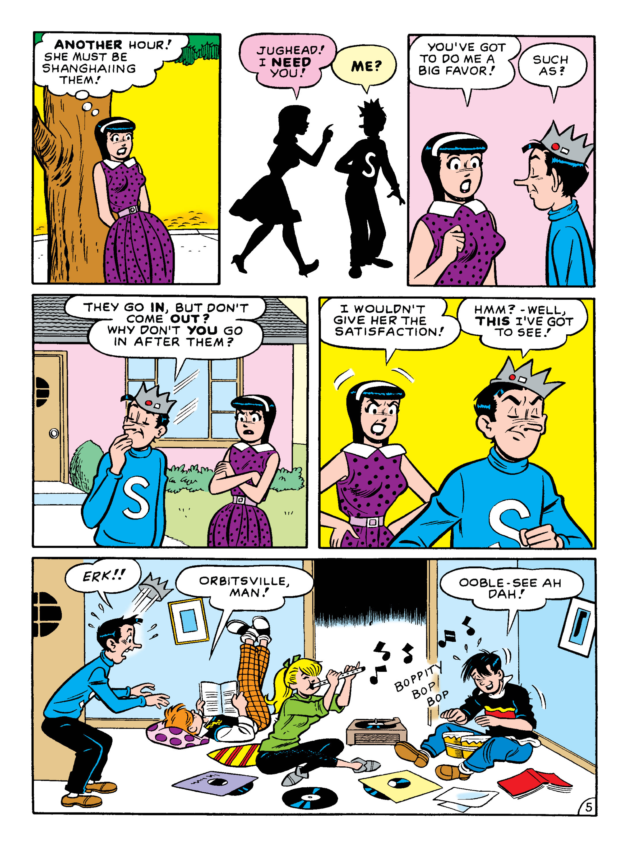 Read online Archie 75th Anniversary Digest comic -  Issue #3 - 96
