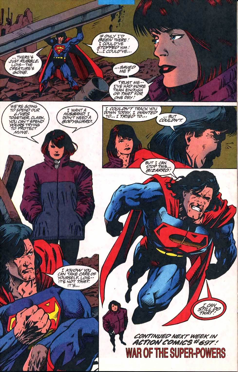 Read online Adventures of Superman (1987) comic -  Issue #510 - 23