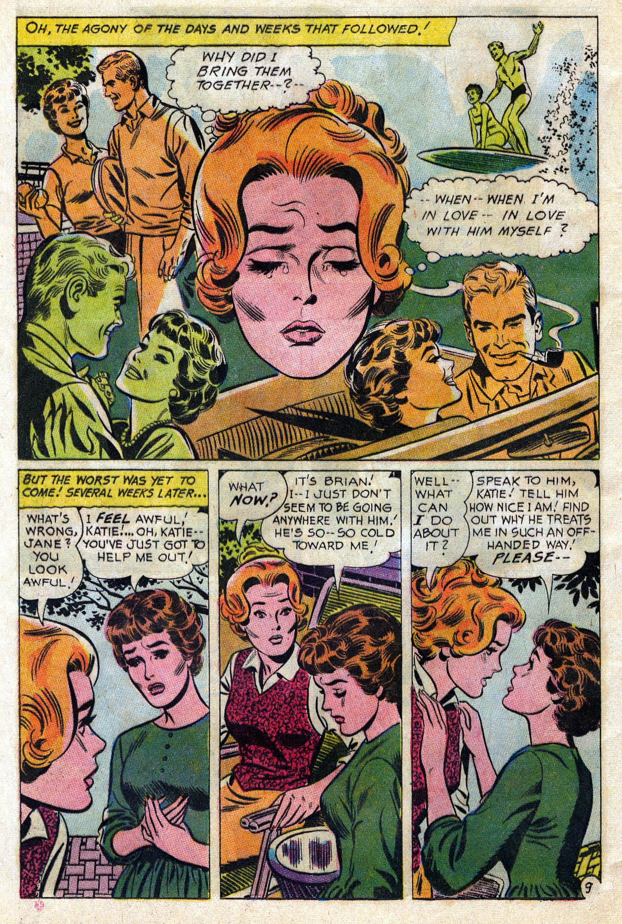 Read online Secret Hearts comic -  Issue #109 - 31