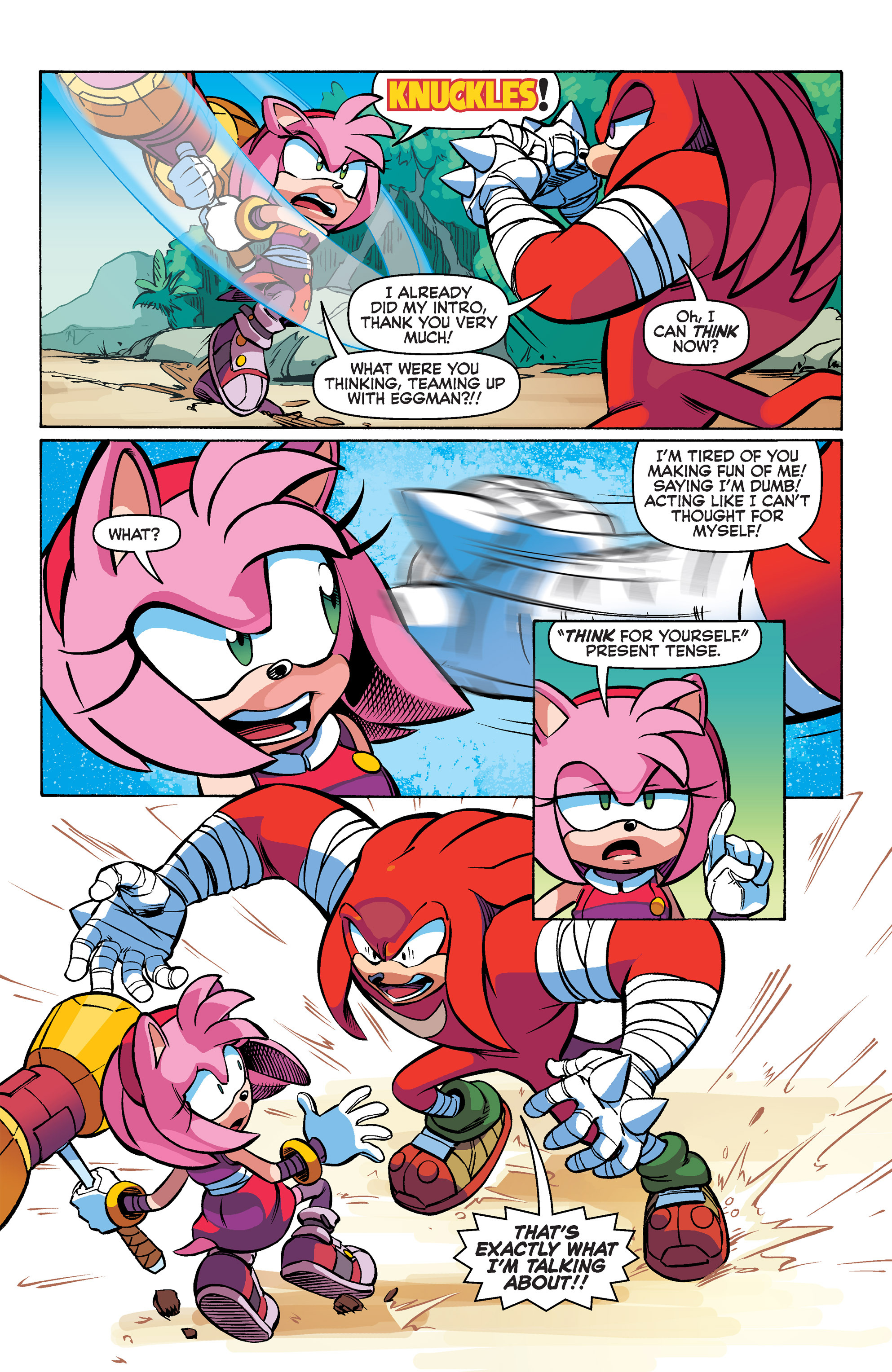 Read online Sonic Boom comic -  Issue #2 - 8