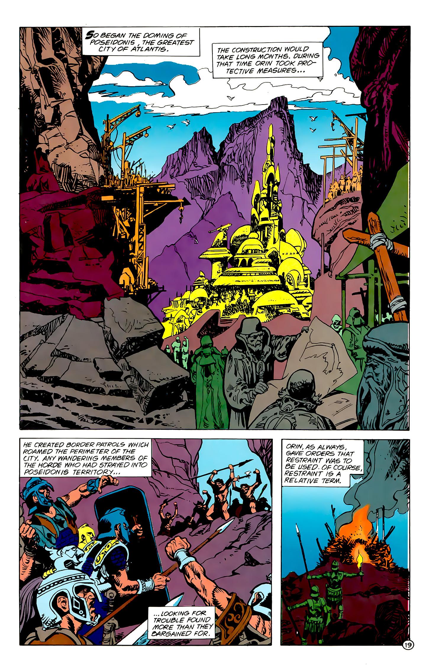 Read online Atlantis Chronicles comic -  Issue #1 - 19