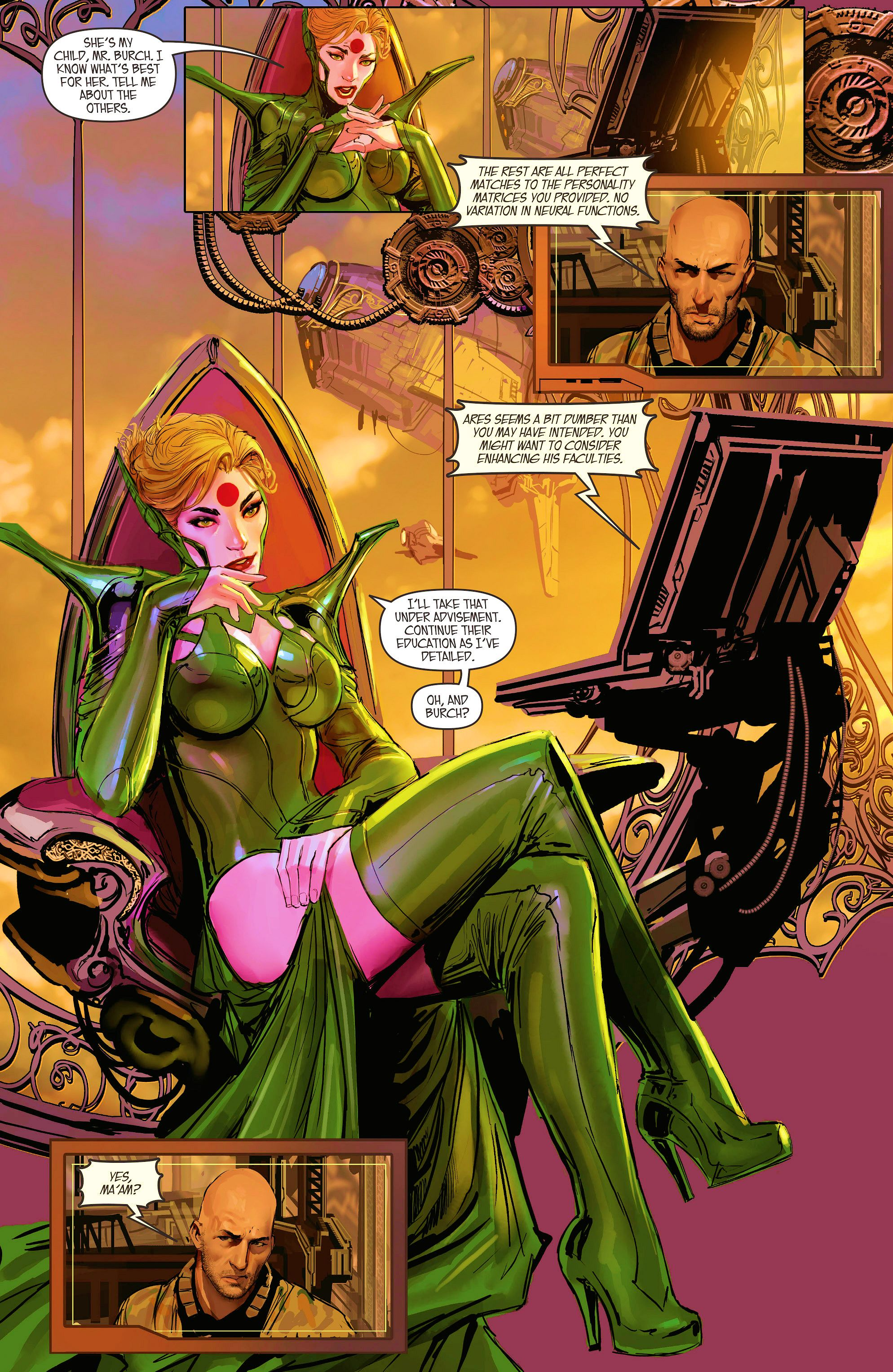 Read online Aphrodite IX (2013) comic -  Issue #10 - 5