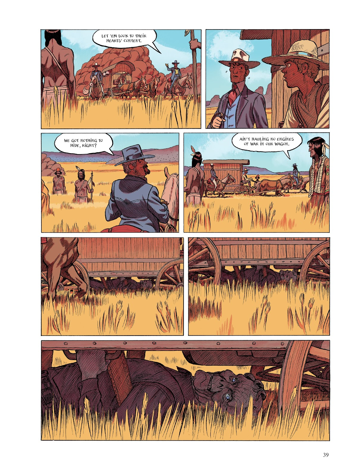 Read online The Smell of Starving Boys comic -  Issue # TPB - 40