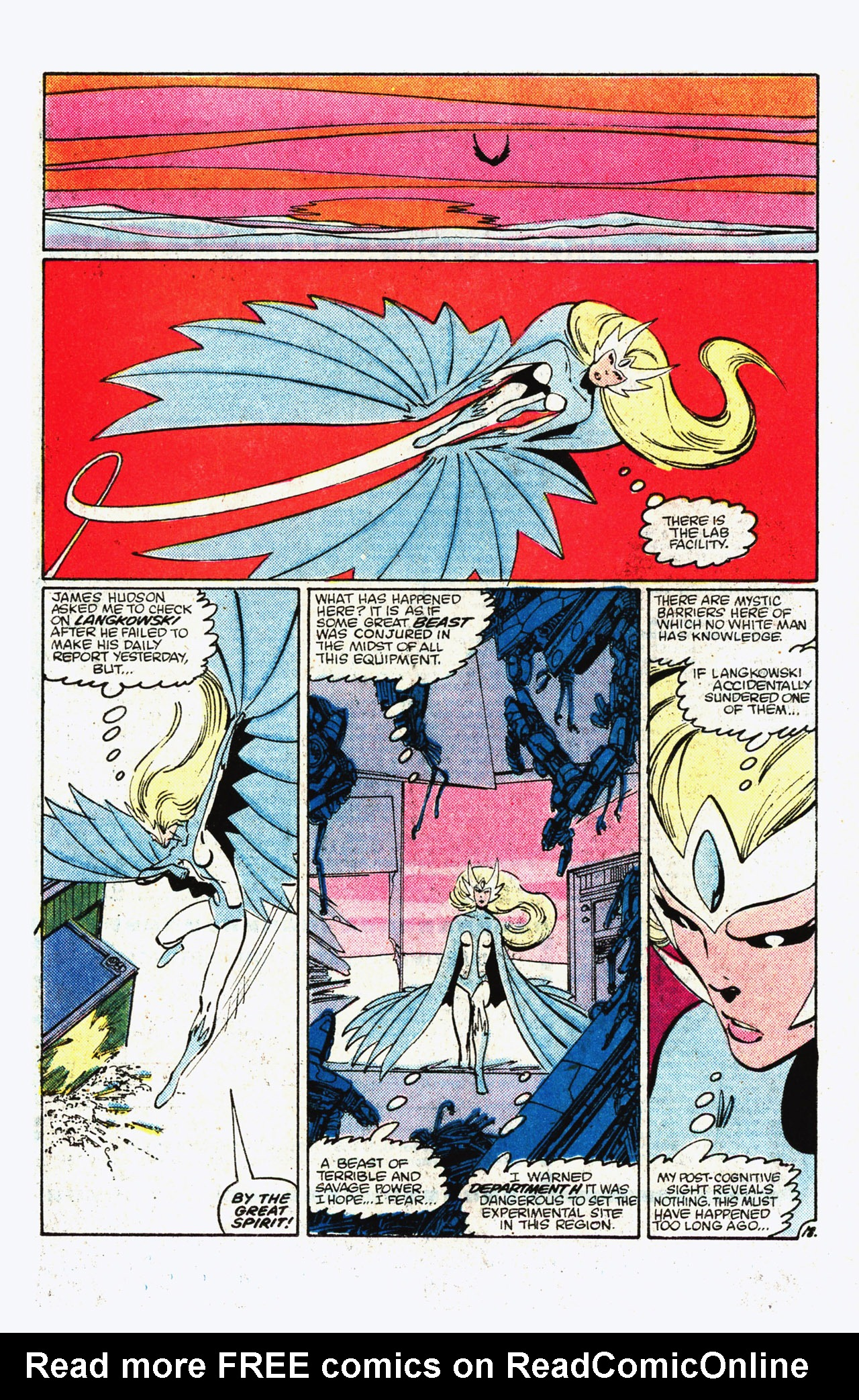 Read online Alpha Flight (1983) comic -  Issue #11 - 19