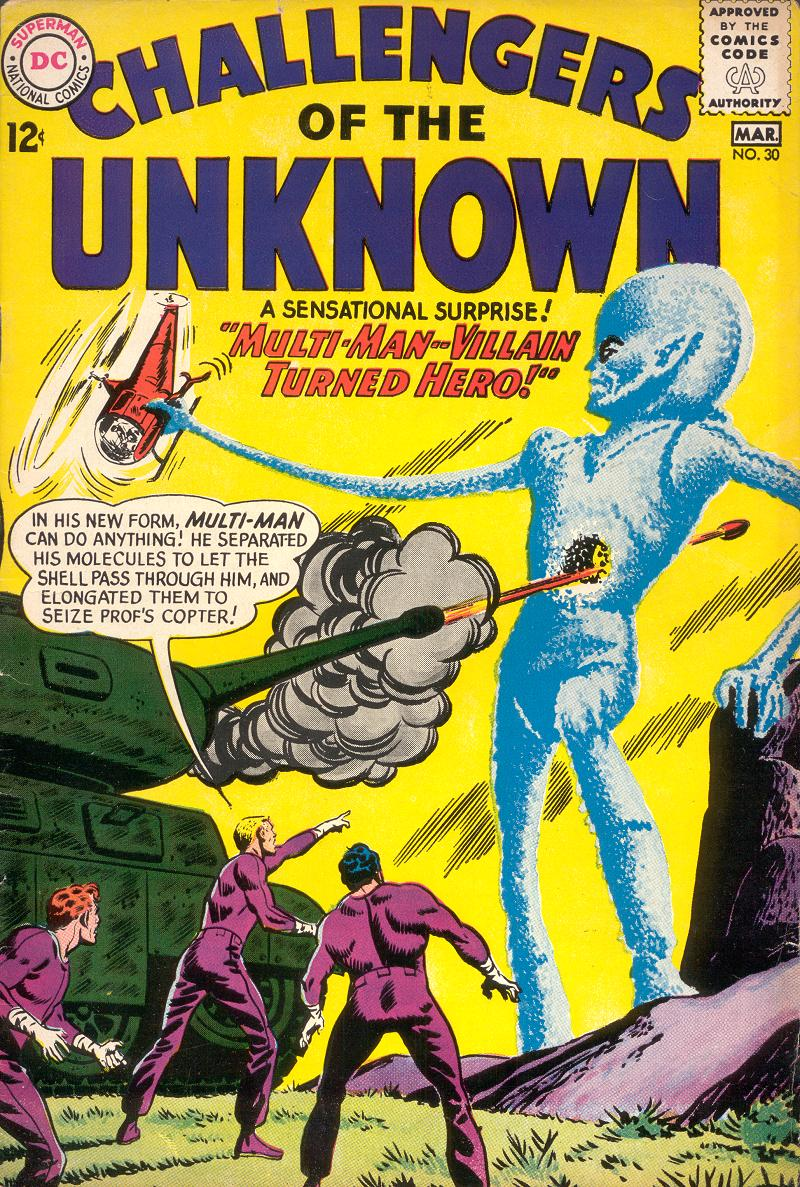 Challengers of the Unknown (1958) 30 Page 1