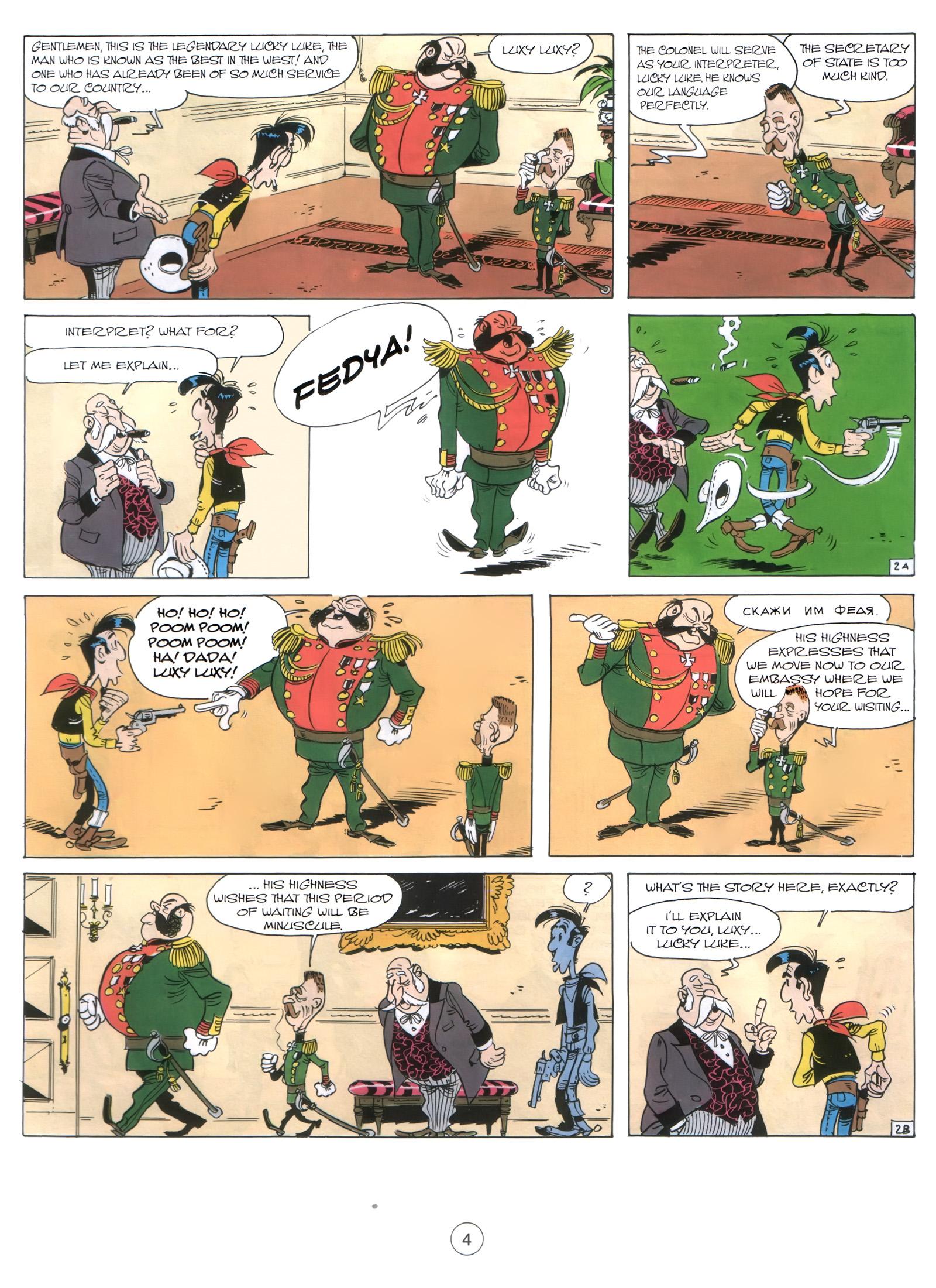 A Lucky Luke Adventure 29 Page 2