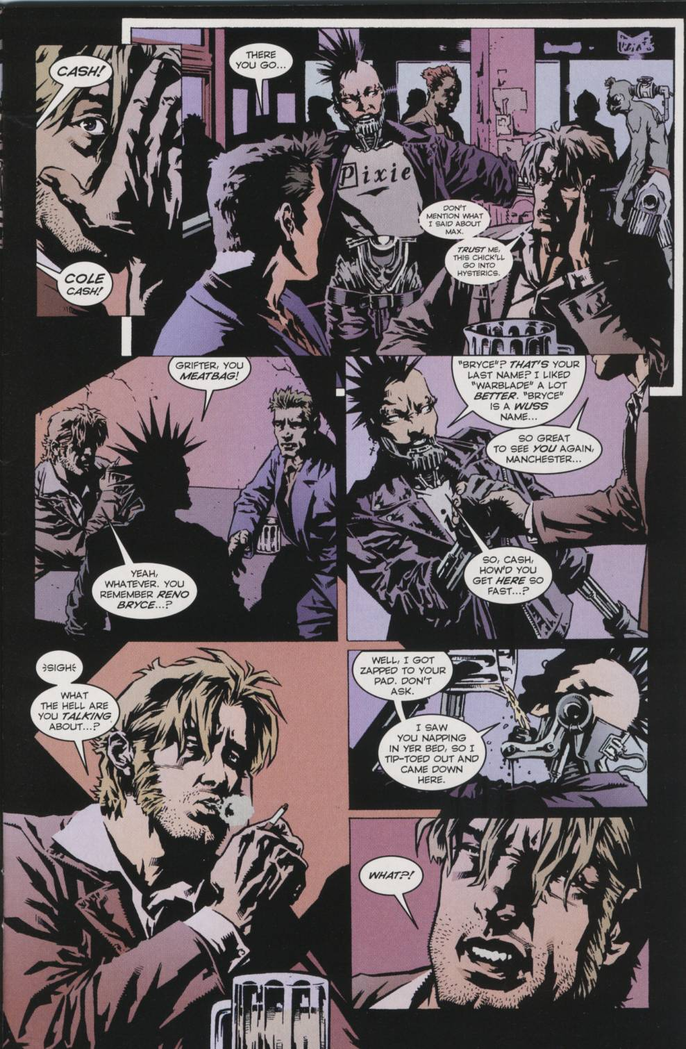 Wildcats (1999) _Annual 2000 #1 - English 12