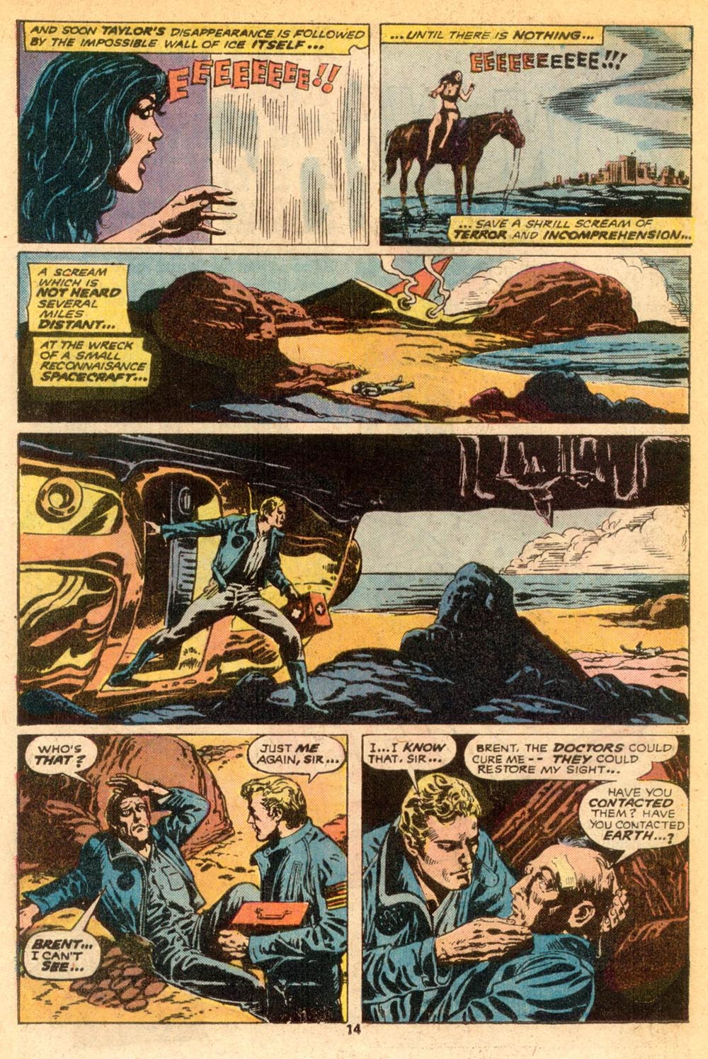 Read online Adventures on the Planet of the Apes comic -  Issue #7 - 9