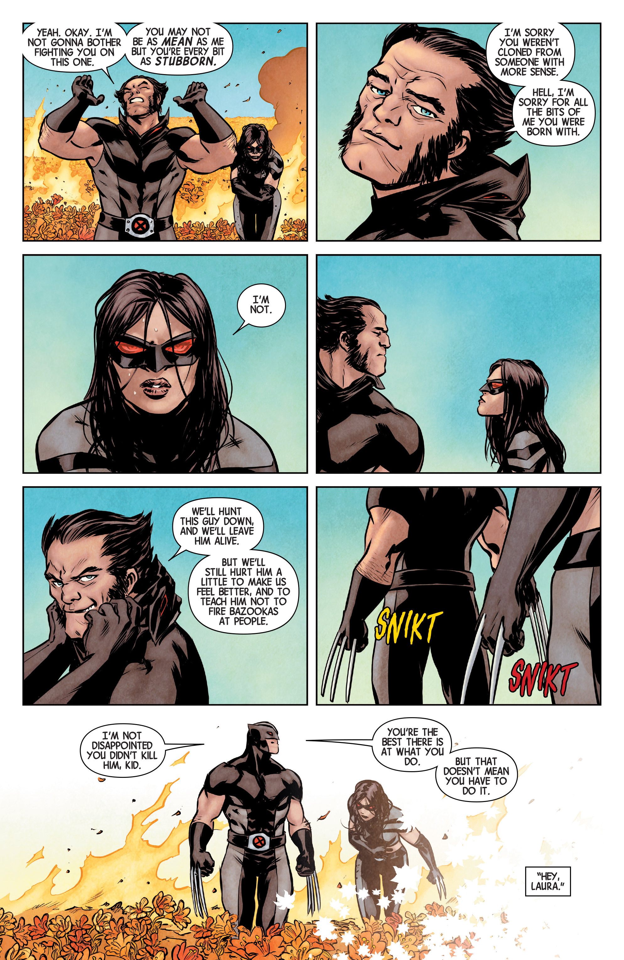 Read online All-New Wolverine (2016) comic -  Issue #1 - 9