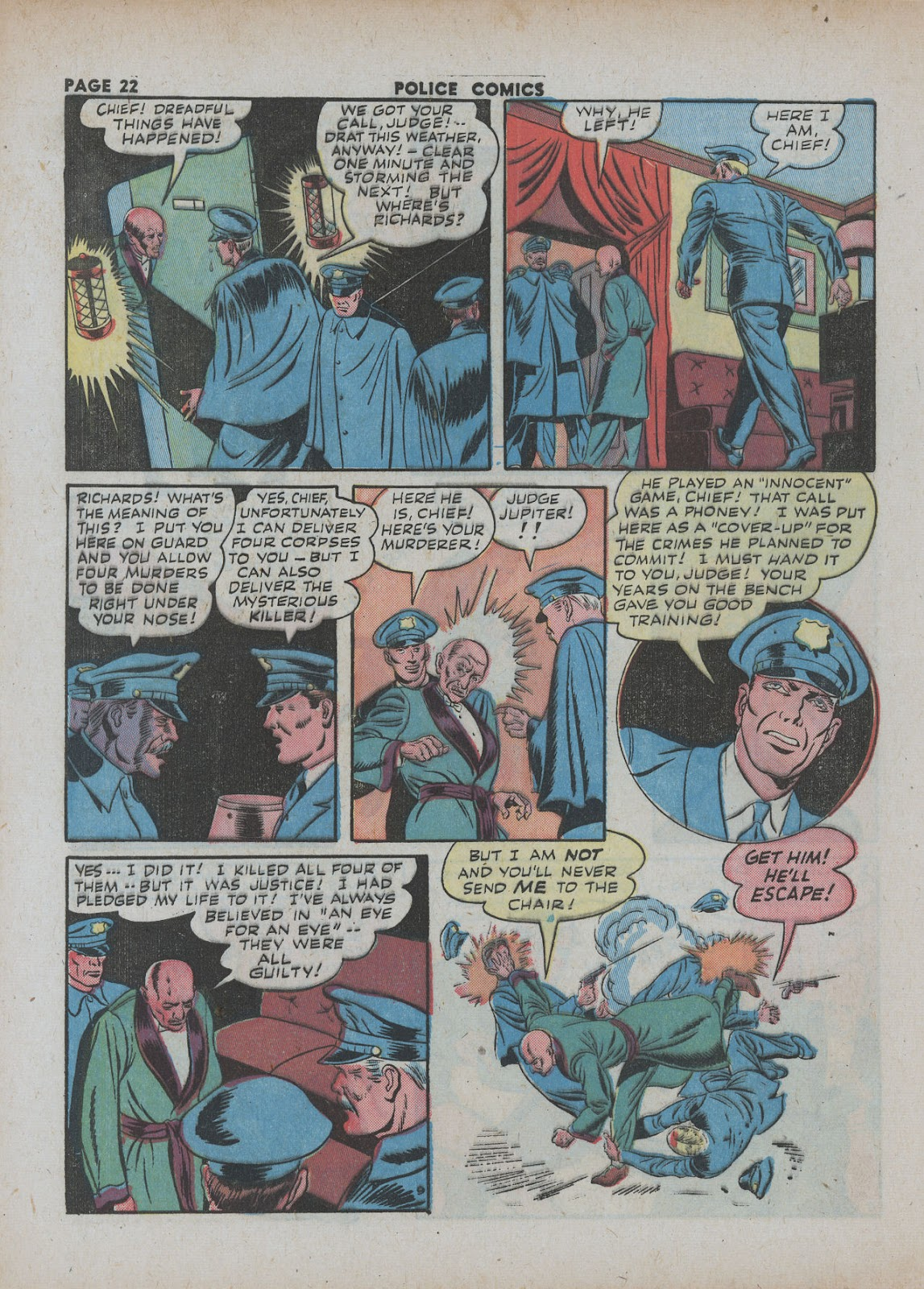 Police Comics issue 18 - Page 24