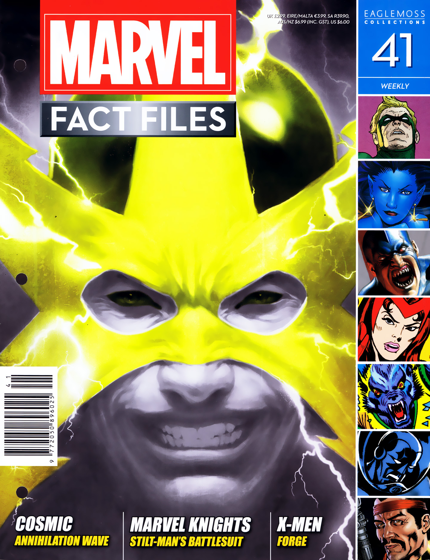 Marvel Fact Files 41 Page 1